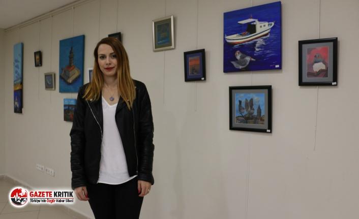 'İstanbul'a Bakış' Sergisi Sanatseverler ile Buluştu