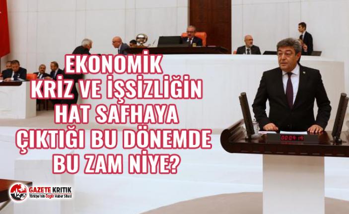 İYİ PARTİ KAYSERİ MİLLETVEKİLİ DURSUN ATAŞ'TAN...