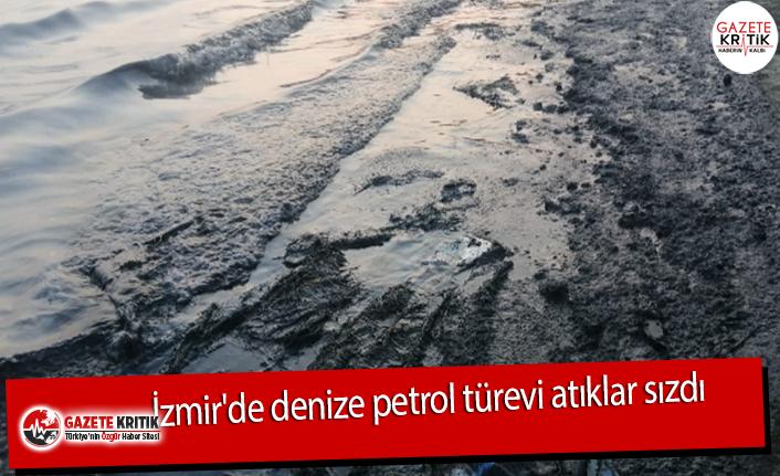 İzmir'de denize tehlikeli atıklar sızdı