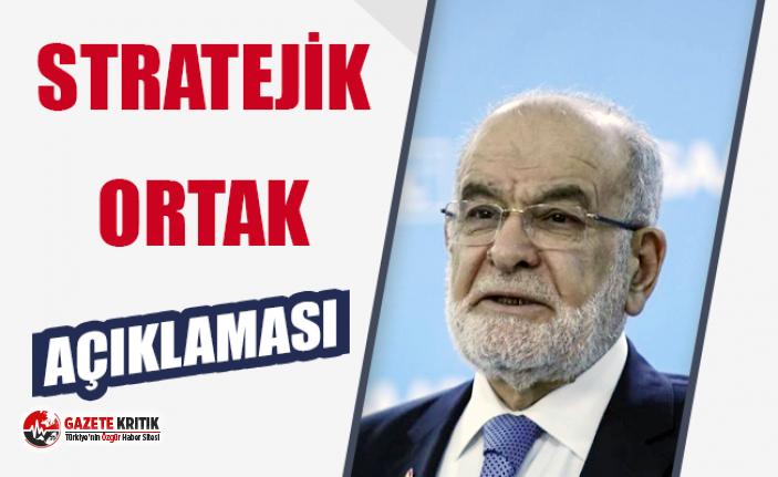 Karamollaoğlu'ndan AKP'ye: 'Stratejik...