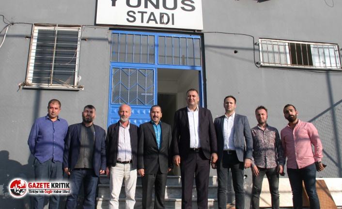 Kartal Yunus Stadı Yenileniyor