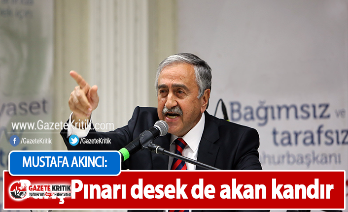 KKTC Cumhurbaşkanı Mustafa Akıncı: Barış Pınarı desek de akan kandır