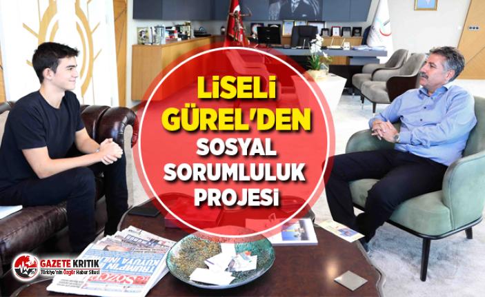 Liseli Gürel'den sosyal sorumluluk projesi