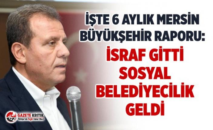MERSİN'DE SOSYAL BELEDİYECİLİK ÖRNEĞİ!İSRAF...
