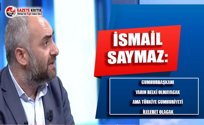 Saymaz'dan AKP'li Tayyar:20 yıl önce İsmet Paşa'ya bu sözleri söyleyemezdiniz;Hava değişti İsmet Paşa'ya laf ediyorsunuz