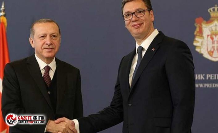 """Sırbistan Cumhurbaşkanı """"Misafirimizi kırmayalım""""..."""
