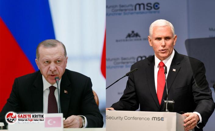 Son dakika!ABD Başkan Yardımcısı Pence, perşembe günü Erdoğan ile görüşecek