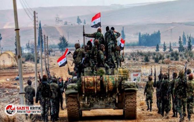 Suriye Devlet Ordusu harekete geçiyor