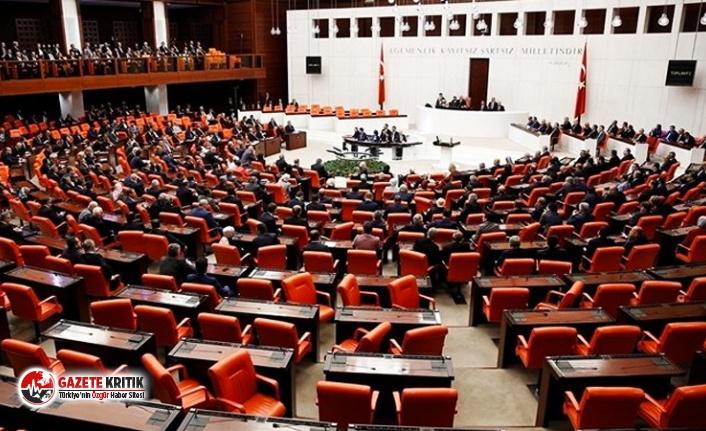 TBMM'de sadece AKP'nin verdiği kanun teklifleri gündeme alındı, muhalefet ve MHP'li vekillerin 1855 teklifi komisyonu aşamadı