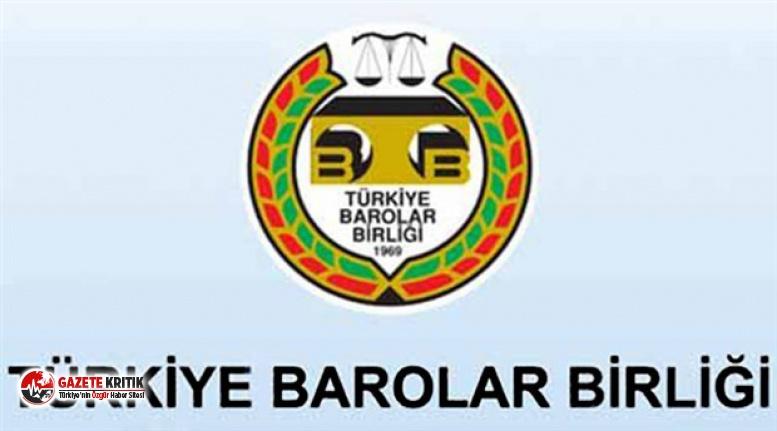 Türkiye Barolar Birliği'nde Süreç Başladı