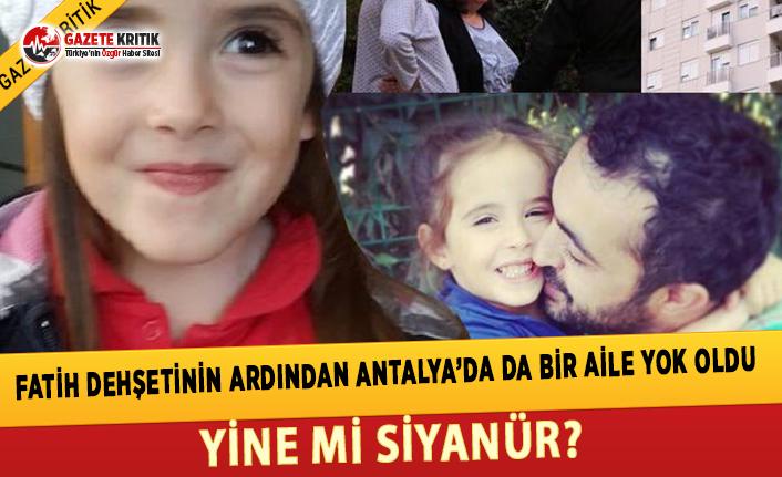 Antalya'da 4 Kişilik Bir Aile Evlerinde Ölü...