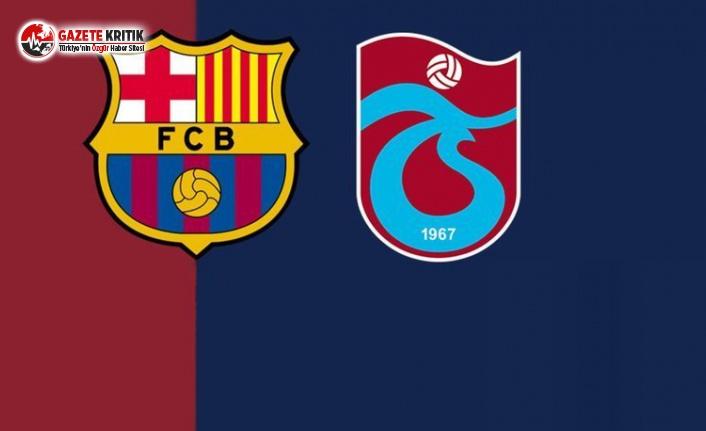 Barcelona'dan Trabzonspor'a Teşekkür Mektubu