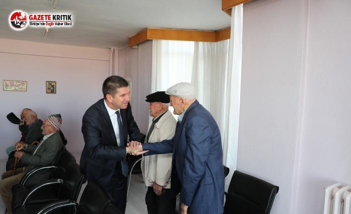 Başkan Ercengiz'den Huzurevi Ziyareti