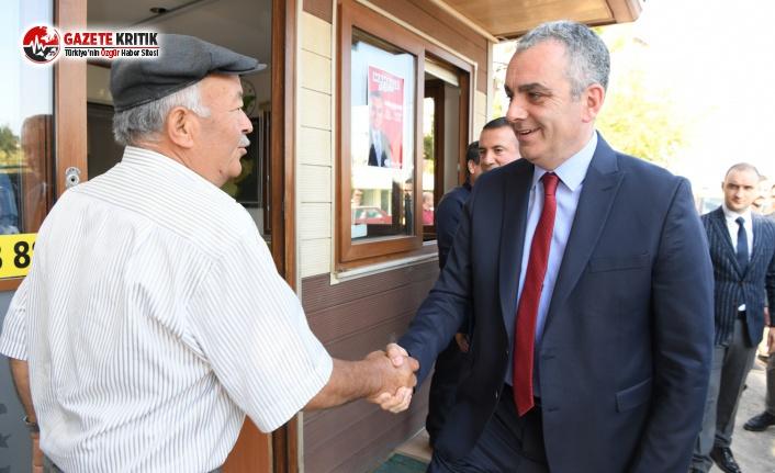 Başkan Esen'den Taksi Esnafına Sürpriz Ziyaret