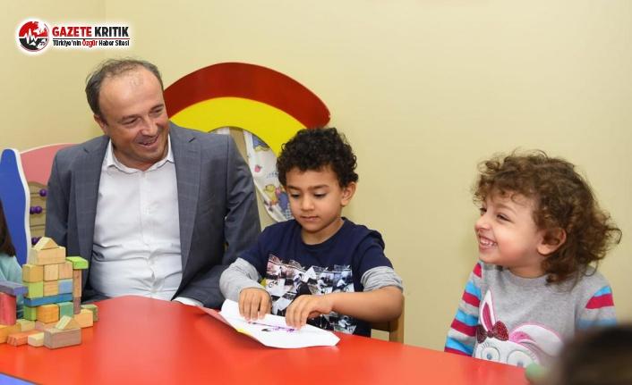 Başkan Hançerli, Belediye Tarafından Yenilenen Çocuk Evlerini Gezdi