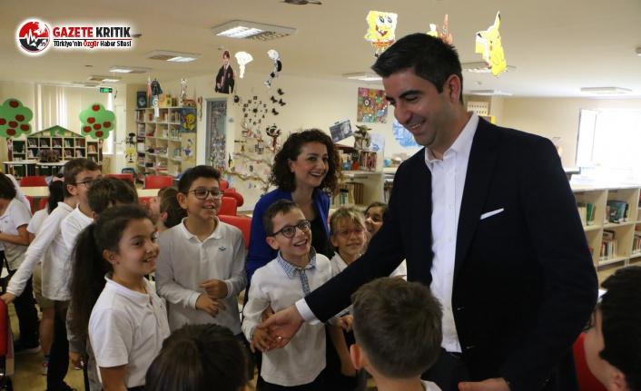 Başkan Yüksel'den Çocuklara 'Eğlenceli...