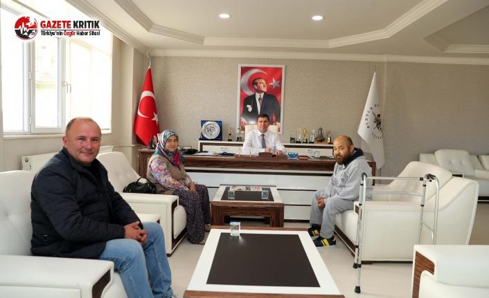Büğdüz'lü Ahmet'ten Başkan Ercengiz'e ziyaret