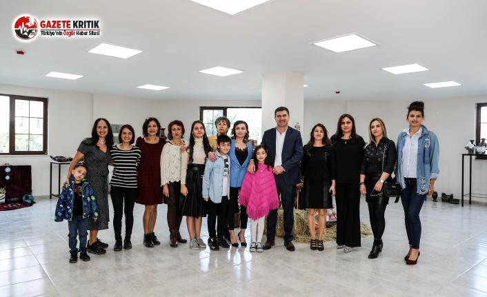 Burdur Belediyesi 12'inci Dönem Seramik Sergisi Açıldı