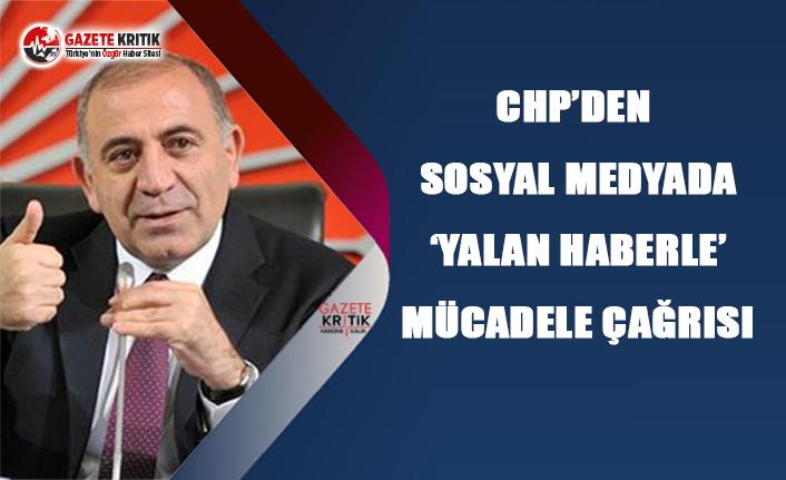 CHP'den, Sosyal Medyada 'Yalan Haberle'...
