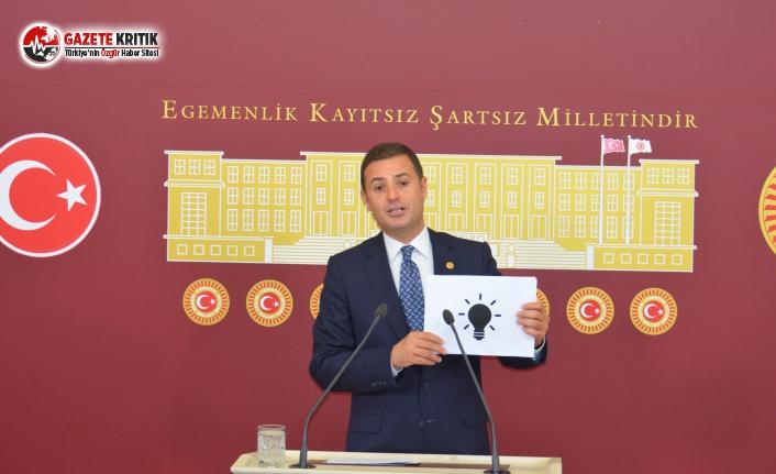 CHP'li Akın'dan Elektrik Faturalarını Ucuzlatacak Teklif