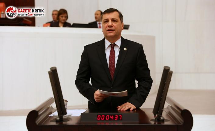 CHP'li Ceylan, Kerç Boğazı'ndaki Faciayı Meclise Taşıdı