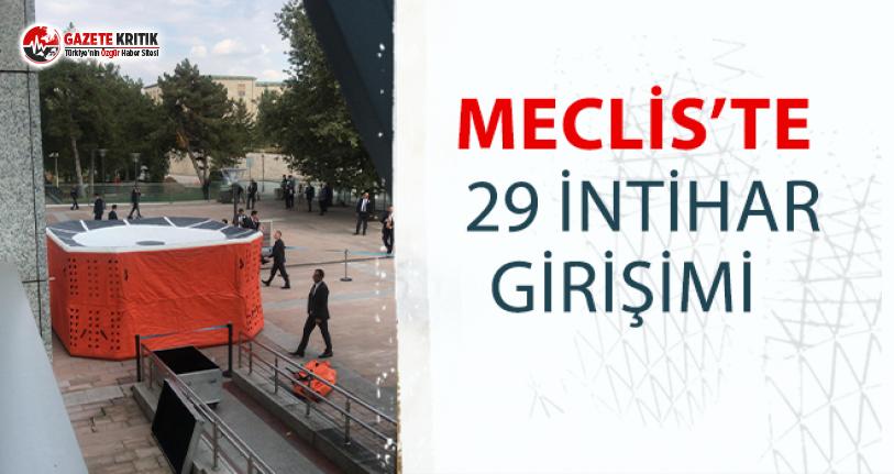 CHP'li ilgezdi sormuştu:Meclis'te 29 intihar girişimi