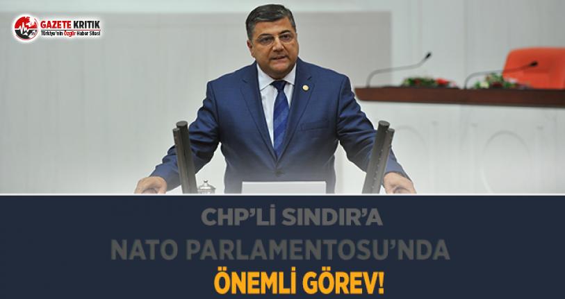 CHP'li Sındır'a NATO Parlametosu'nda...
