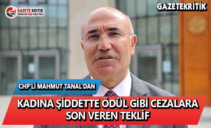 CHP'li Tanal'dan Kadına Şiddette Ödül...
