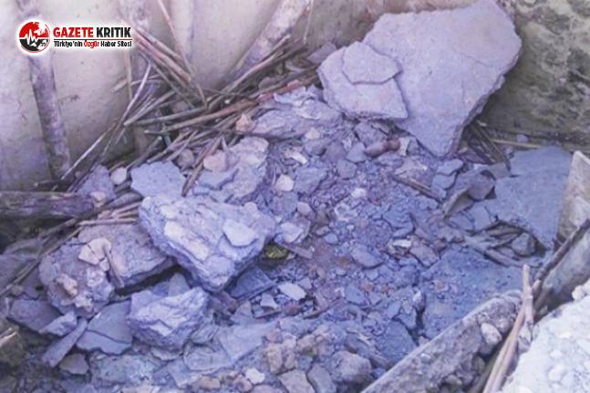 Dinamit Patlatıldı, Evi Yandı; Adam Hayattan Koparıldı