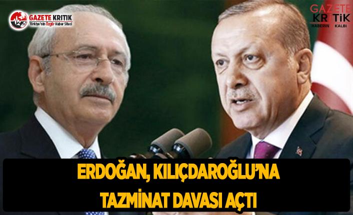 Erdoğan, Kılıçdaroğlu''na Tazminat Davası Açtı