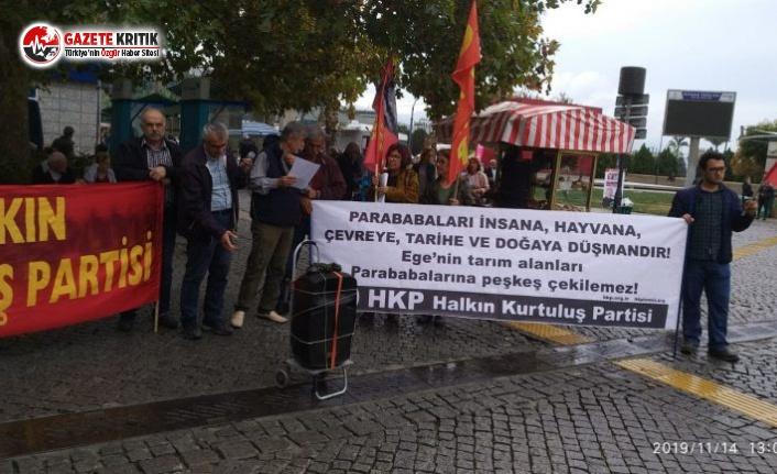 HKP İzmir İl Örgütü'nden Protesto Eylemi