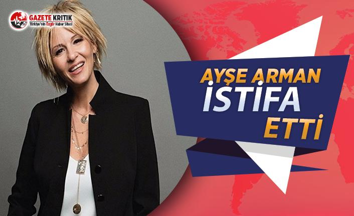 Hürriyet'teki işten çıkartmalara bir tepki de Ayşe Arman'dan:İstifa etti!