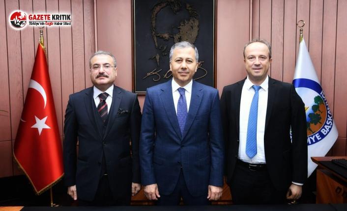 İstanbul Valisi Ali Yerlikaya, Turan Hançerli'yi Ziyaret Etti