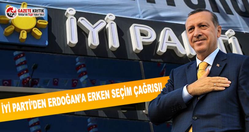 İYİ Parti'den Erken Seçim Çağrısı!