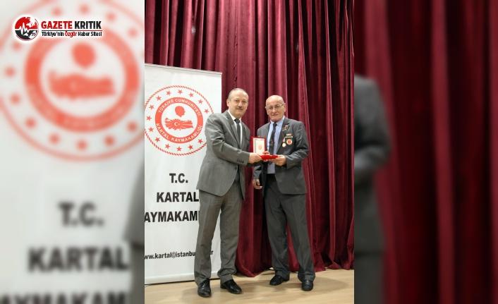 Kartal'da Kıbrıs Kahramanları İçin Madalya Tevcih Töreni Düzenlendi
