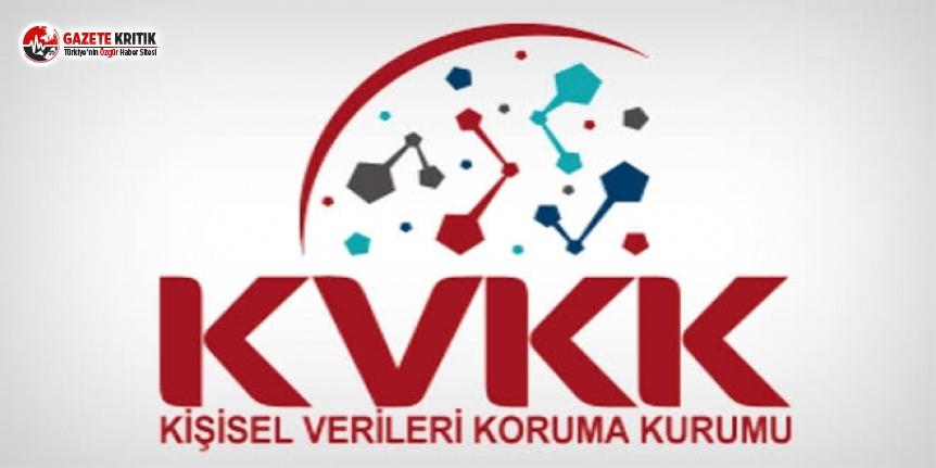 KVKK'dan 'Suç Duyurusu' Kararı