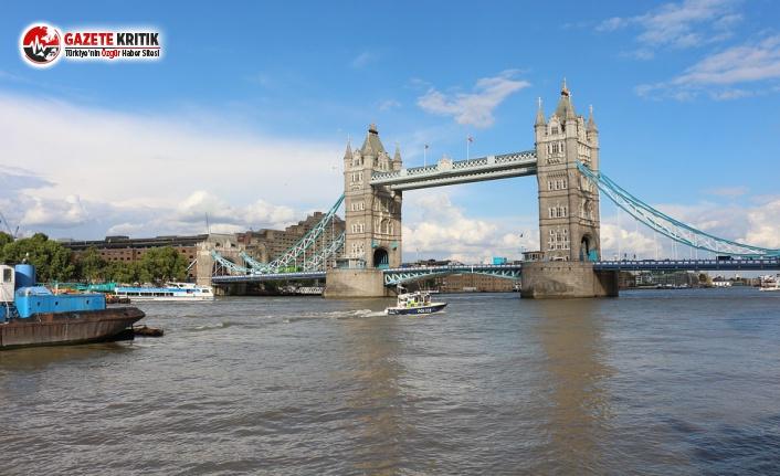 Londra Köprüsü'nde Korkutan Anlar!