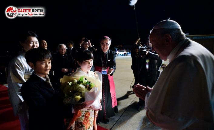 Papa Hiroşima'da:Nükleer silah kullanımı...