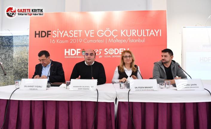 """Sosyal Demokratlar Maltepe'de """"Göç Kurultayı""""nda Buluştu"""