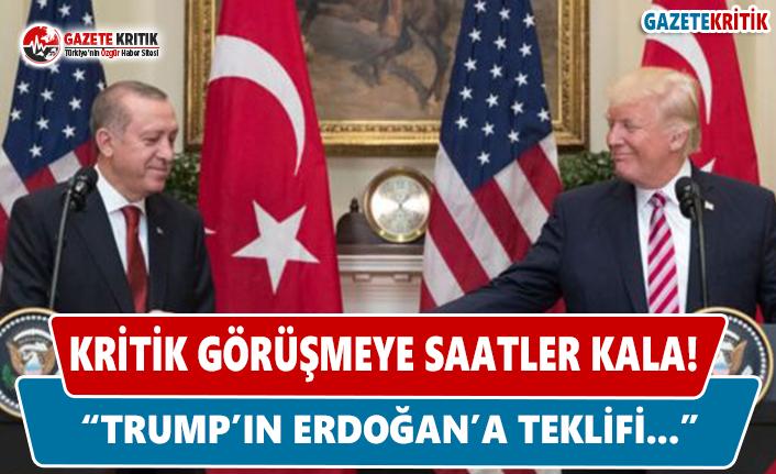 """""""Trump'ın Erdoğan'a teklifi…"""""""