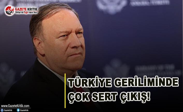Türkiye Geriliminde Çok Sert Çıkış