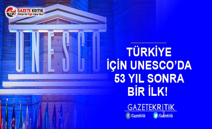 Türkiye İçin UNESCO'da 53 Yıl Sonra Bir İlk!