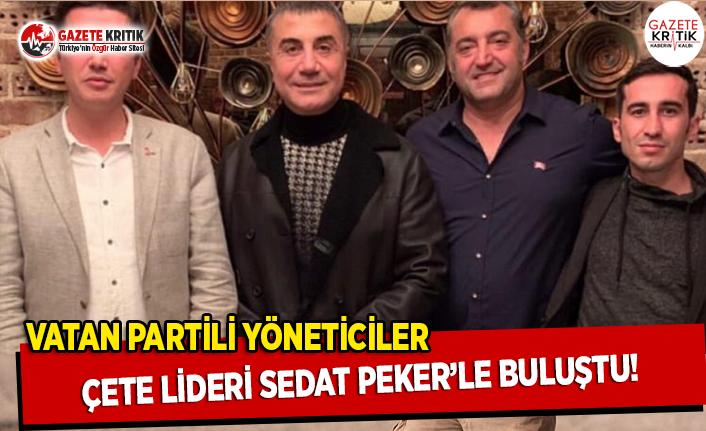 Vatan Partili Yöneticiler Çete Lideri Sedat Peker...