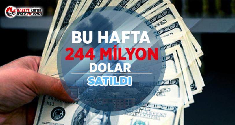 Vatandaşlar Bu Hafta 244 Milyon Dolar Sattı