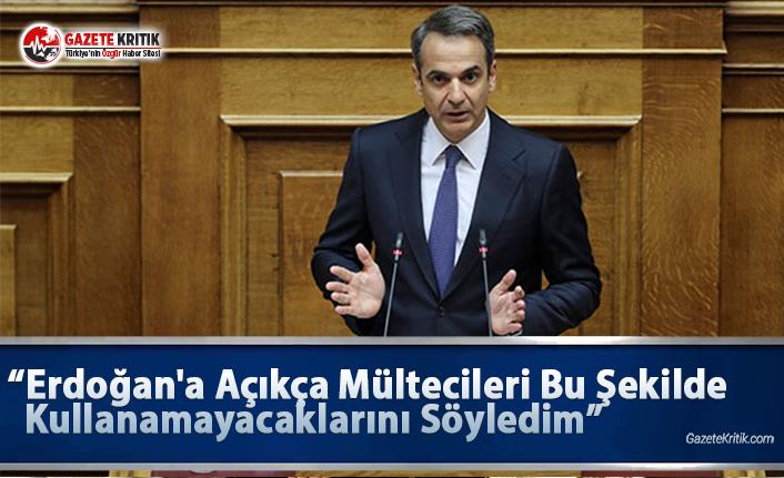 Yunan Başbakan: Erdoğan'a Açıkça Mültecileri Bu Şekilde Kullanamayacaklarını Söyledim