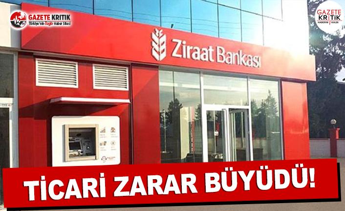 Ziraat Bankası'nın Ticari Zararı Büyüdü