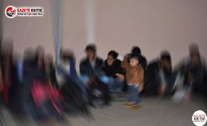 87 Sığınması Ayvacık'ta Yakalandı