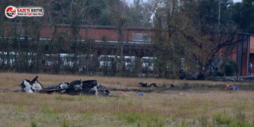 ABD'de Düşen Uçakta 5 Kişi Öldü