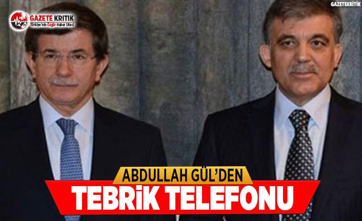 Abdullah Gül'den Tebrik Telefonu