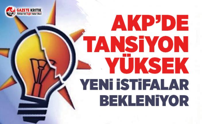 AKP'de Tansiyon Yüksek: Yeni İstifalar Bekleniyor